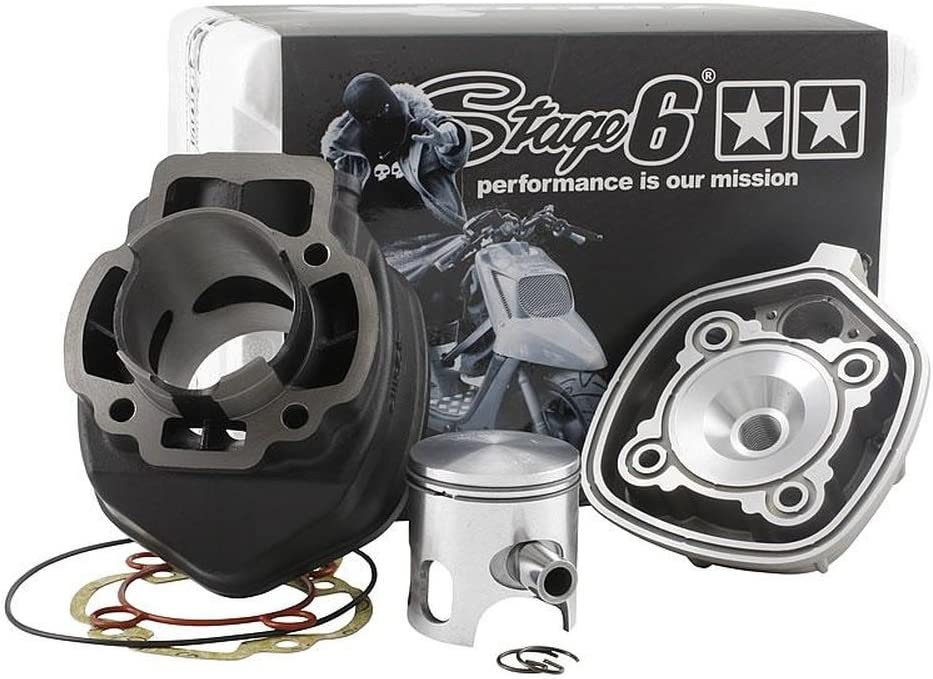 STAGE6/streetrace 70/cc cylindre kit pour Piaggio NRG 50 NRG 50/Power DD LC NRG 50/DT LC