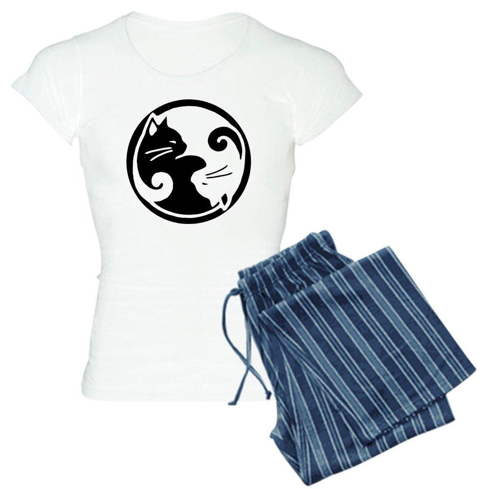 CafePress - Yin-Yang-Cat - Womens Pajama Set
