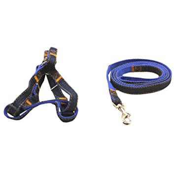 870c7ac7601 KYZ Large Medium Small Dog Leash Harness Adjustable Dog Collar Leash Set  For Outdoor