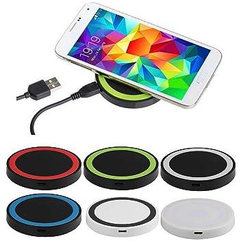 Eroihe Cargador Inalámbrico Teléfono Móvil Plataforma de Carga Inalámbrica para Samsung Android