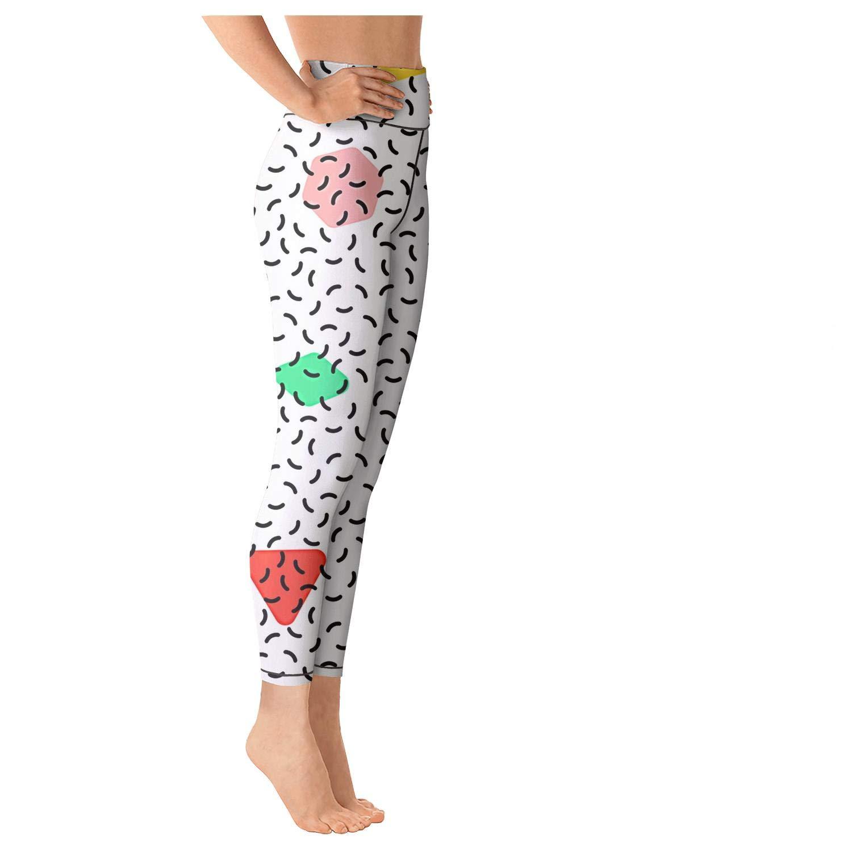 Clothing Fashion Junnanp Retro Colorful Graphic Yoga Pants for ...