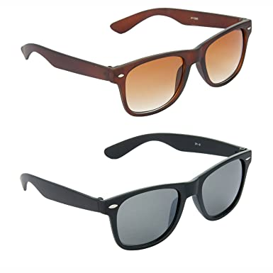 Amazon.com: HRINKAR - Gafas de sol para hombre, Marrón: Clothing