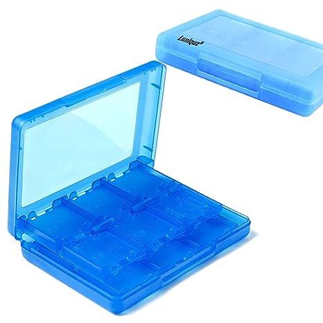 Generic 28-en-1 organizador caja Estuche para tarjetas de juego para Nintendo DSi DS Lite 3DS