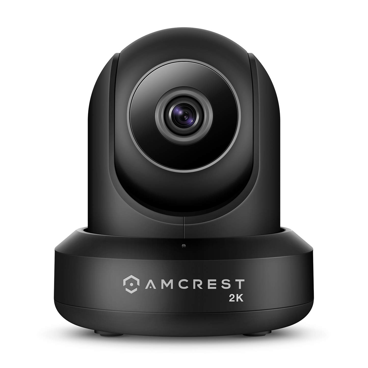 Amcrest UltraHD 2K (3MP/2304TVL) WiFi Video Security IP Camera with Pan/Tilt, Dual Band 5ghz/2.4ghz, Two-Way Audio, 3-Megapixel @ 20FPS, Wide 90° Viewing Angle and Night Vision IP3M-941B (Black) by Amcrest