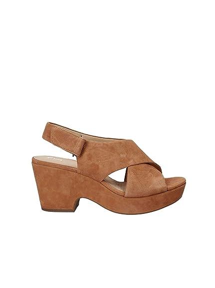 1cd7ab65b4 Clarks Maritsa Lara Womens Wide Heeled Sandals: Amazon.co.uk: Shoes ...