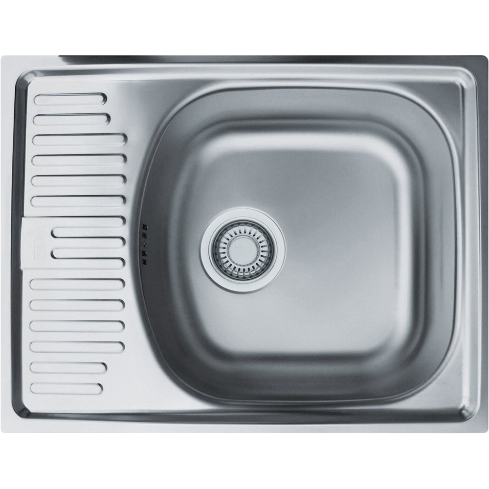 Franke 101.0275.559 Stainless Steel Linen Kitchen Sink with Single ...