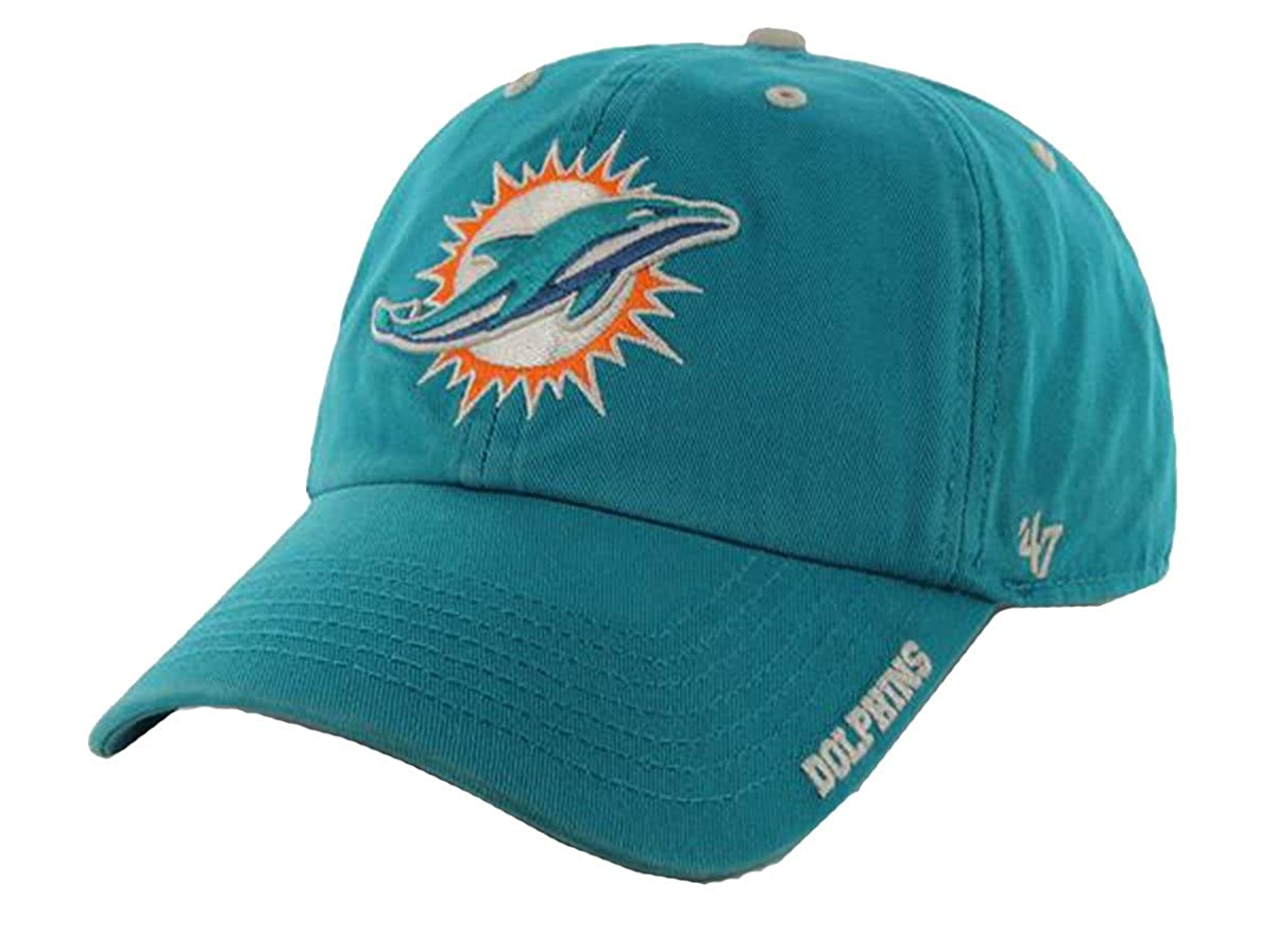 2643309e NFL Miami Dolphins Men's Ice Cap, One Size, Tailgate Teal