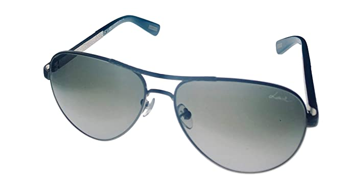 Amazon.com: Nuevo Lanvin anteojos de sol mujer Aviator SLN ...