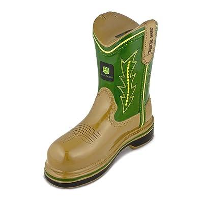 John Deere Gifts >> Amazon Com Jewelry Adviser Gifts Polyresin John Deere Logo Boot