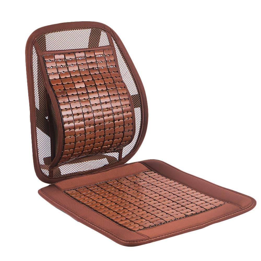 Lqqzq Cushion Summer Car Seat, Breathable Mahjong Mat Car Seat Office Seat Cushion Cushion (Color : Brown) by Lqqzq (Image #1)