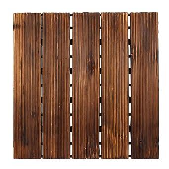 Dynamic 30x30cm Diy Patio Bois Verrouillage Plancher