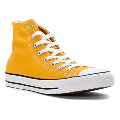 Converse Chuck Taylor All Star Hi Top Solar Orange 151169F Mens 9  Buy  Online at Low Prices in India - Amazon.in a48fa7b3e