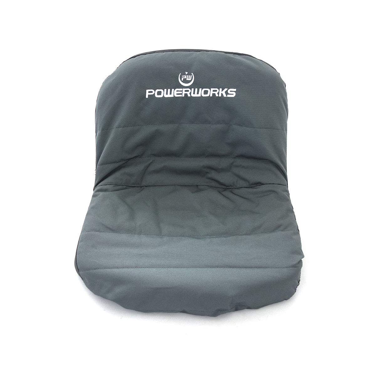 POWERWORKS Deluxe Riding Lawn Mower Seat Cover, Medium