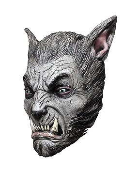 máscara de hombre lobo bestia