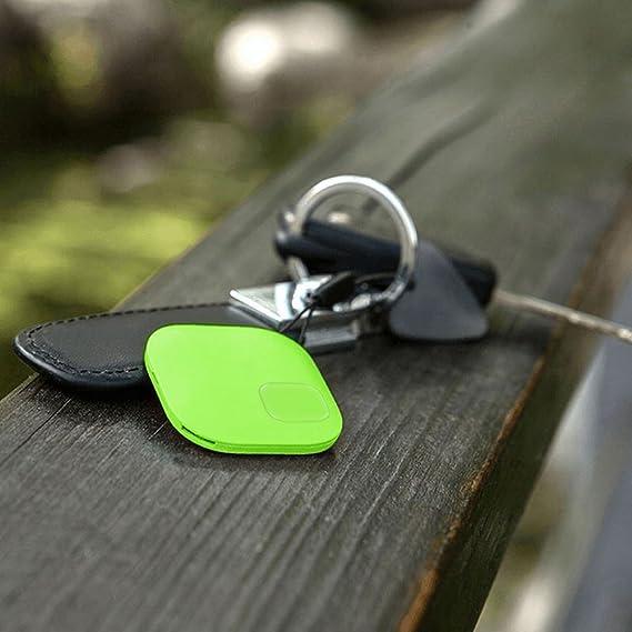 GOMAN Localisateur d objets (clés, portefeuilles) Key Finder Traceur GPS  Bluetooth Anti-Perte Porte-Clé avec Alarme de Localisation Tracker avec ... b7800785696