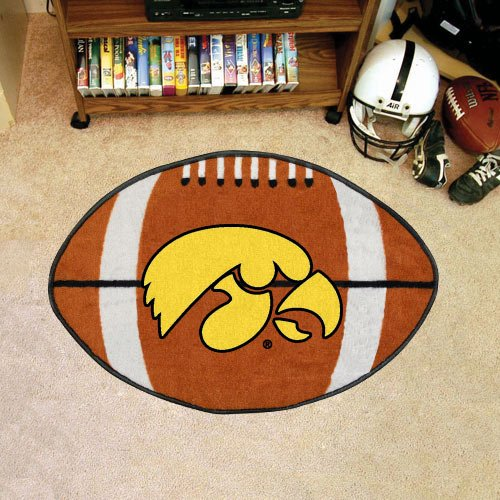 Iowa Football Rug 22