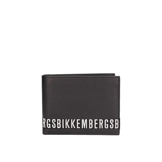 Bikkembergs E83PME303023999 Carteras Hombre Negro TGUNI: Amazon.es: Ropa y accesorios