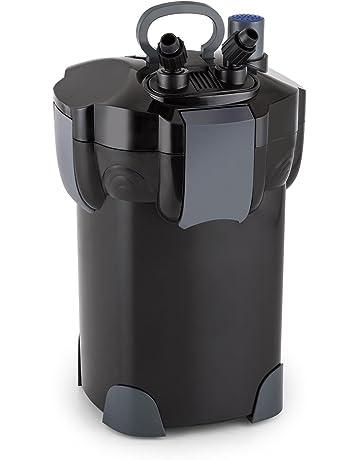 Waldbeck Clearflow 18UV Filtro exterior para acuario con clarificador de 9W UVC • Motor de 18W