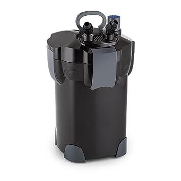 Waldbeck Clearflow 18UV Filtro exterior para acuario con clarificador de 9W UVC • Motor de 18W ...