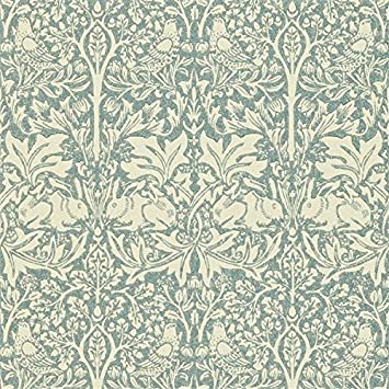 William Morris Brer Rabbit Dmorbr103 Slate Wallpaper Amazon