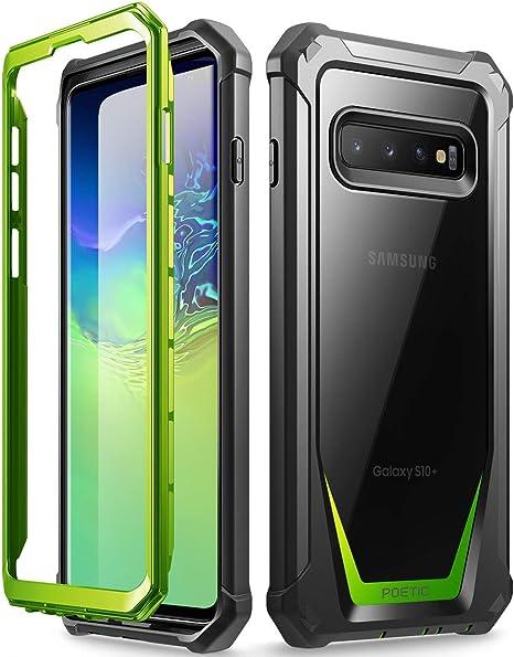 18x Protector Pantalla Samsung Galaxy S10 Plus Frontal + Trasera Pelicula