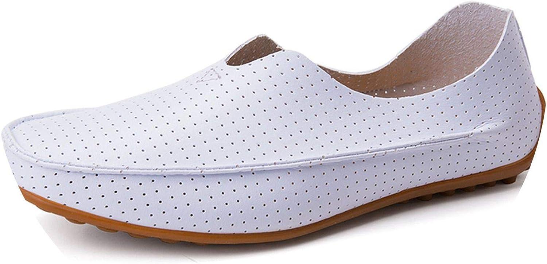 New-Loft Loafers Handmade Slip On Flat Breathable Boat Footwear Size 39-47