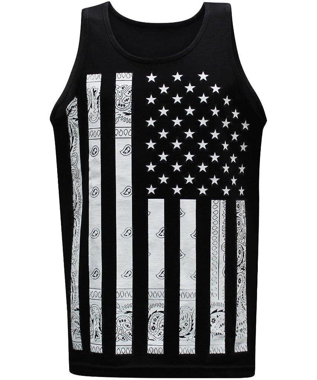 99702bd164a2a7 California Republic Men s Muscle Tees Tank Top T-shirts 80%OFF ...