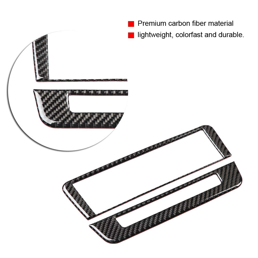 Panel de control de aire acondicionado de fibra de carbono para A//B//GLA//CLA