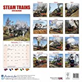 Steam Train Calendar - Calendars 2017 - 2018 Wall Calendars - Steam Trains 16 Month Wall Calendar by Avonside