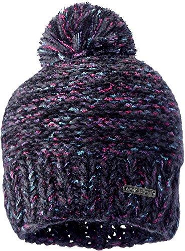 Screamer Women's Venezia Knit Beanie, Black Tweed, One Size (Tweed Knit)
