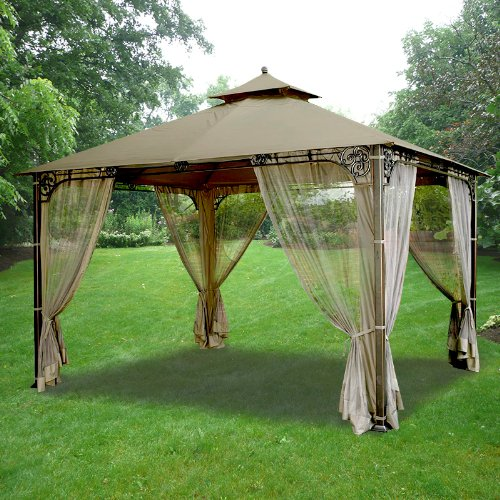 Fair Oaks Gazebo Replacement Canopy - RipLock 350