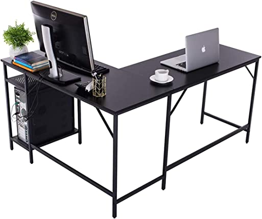 TITISKIN L-Shaped Home Office Desk