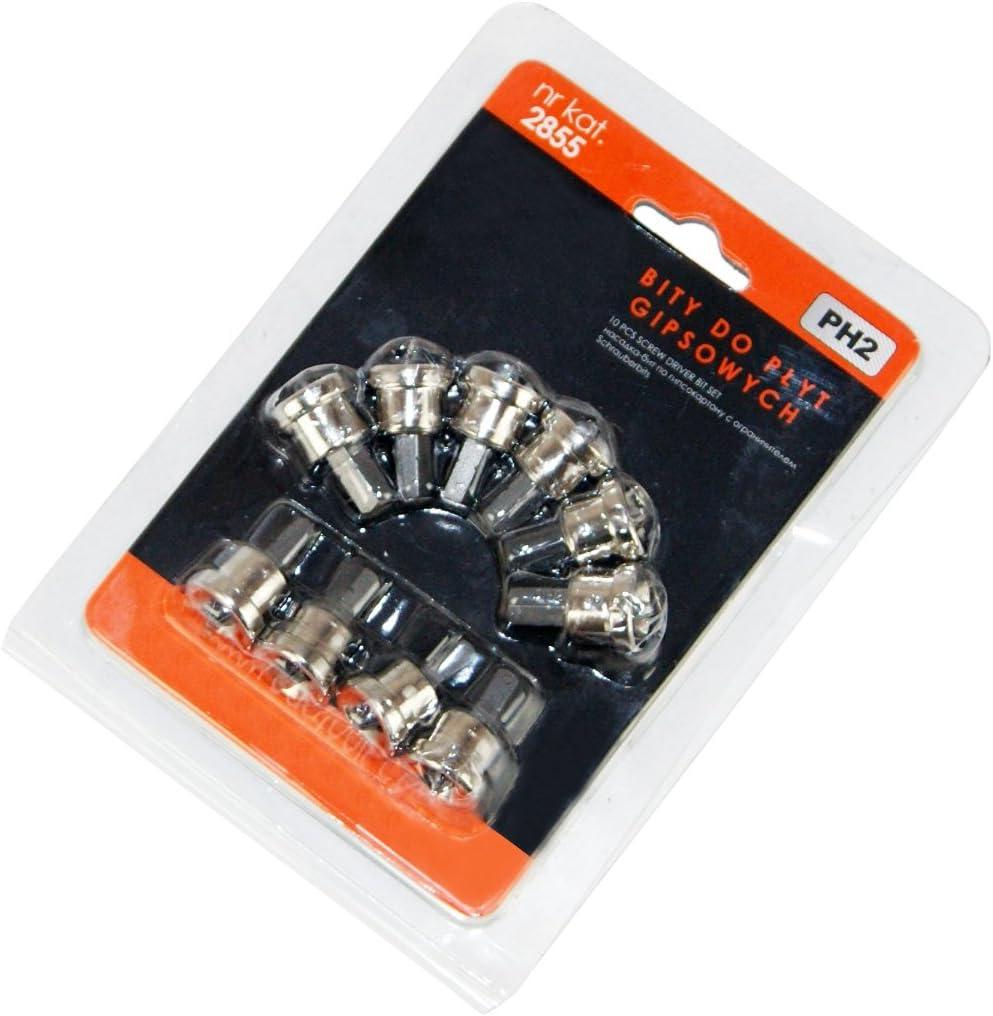 10 Bits Fermacell PH2 Tiefenbegrenzer Gipsplatten Rigips für Trockenbauschrauben