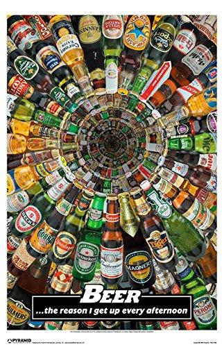 Beer Is The Answer Poster 11x17 (Beer Label Heineken)