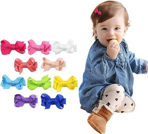 Wholesale 20PC Kid Baby Girls Toddler Cute Flower Hair bows Alligator Clip