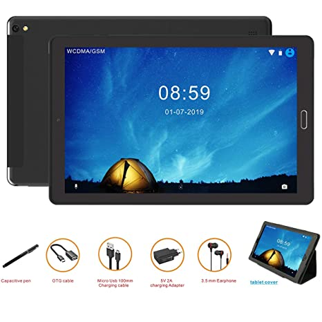 GOODTEL G2 Tablet Android 10 Pulgadas Tableta Android 8.0,4G ...