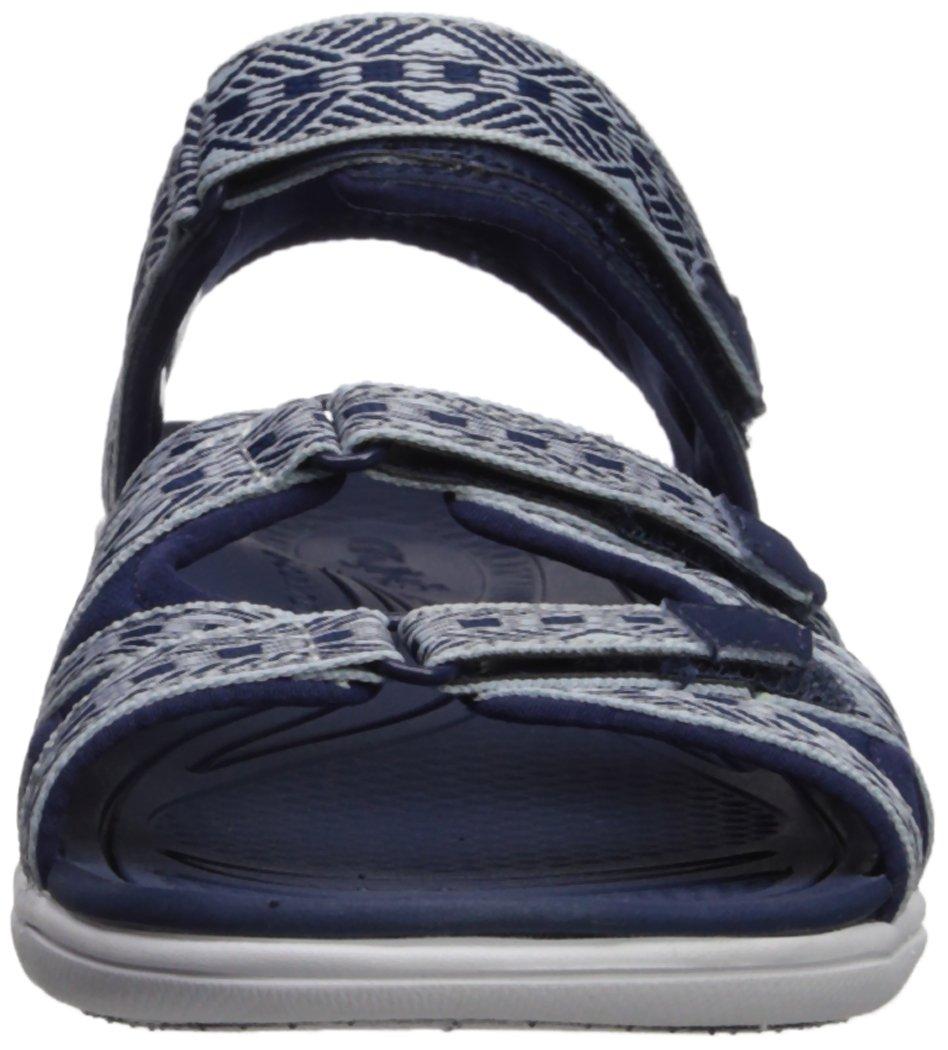 Ryka Women's Savannah Sandal B0757DSHRZ 6 W US|Medieval Blue/Soft Blue