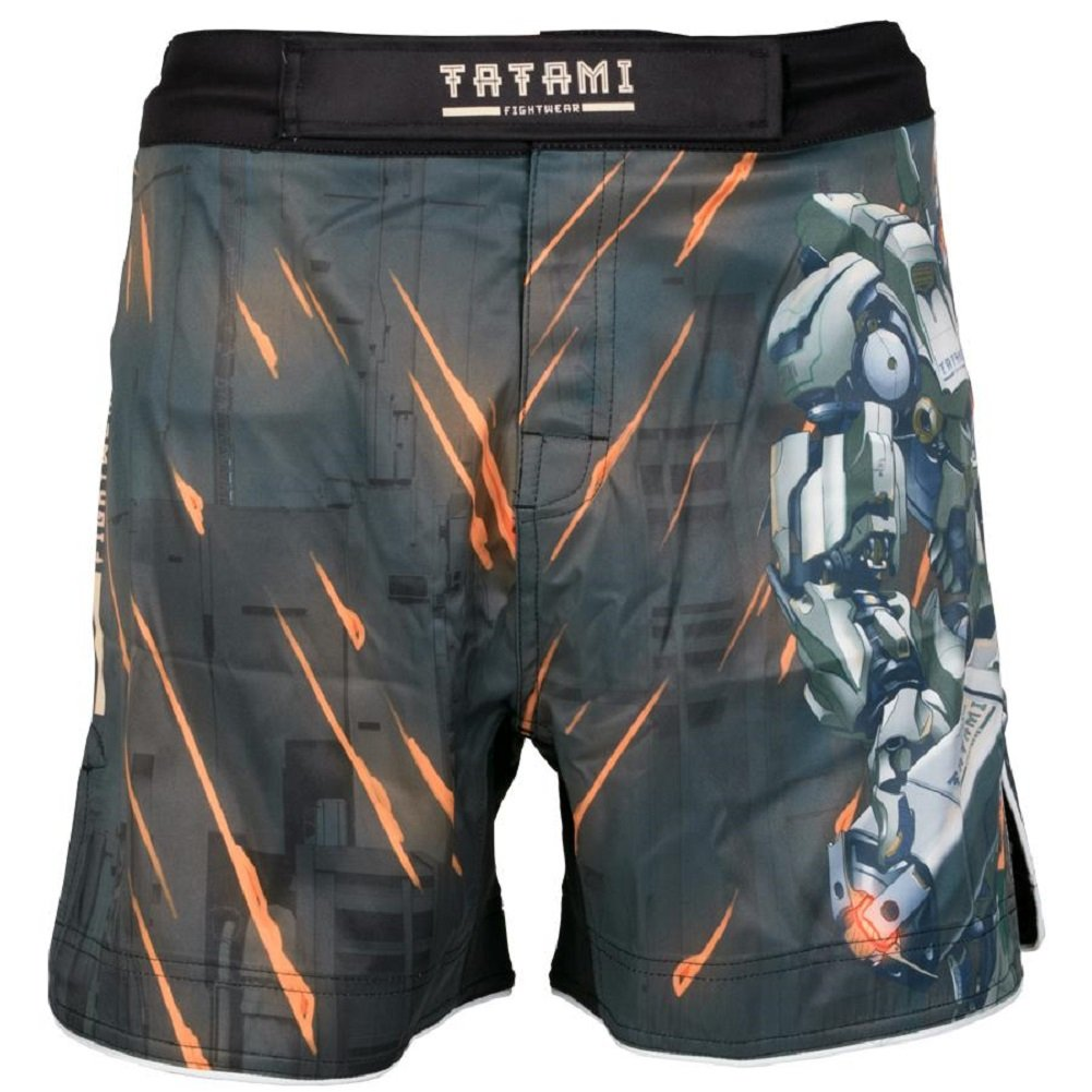 Tatami No Gi Fight Shorts Mech Destroyer - MMA Fight Fitness No Gi Grappling Jiu Jitsu Shorts für Herren Kampfsporthose