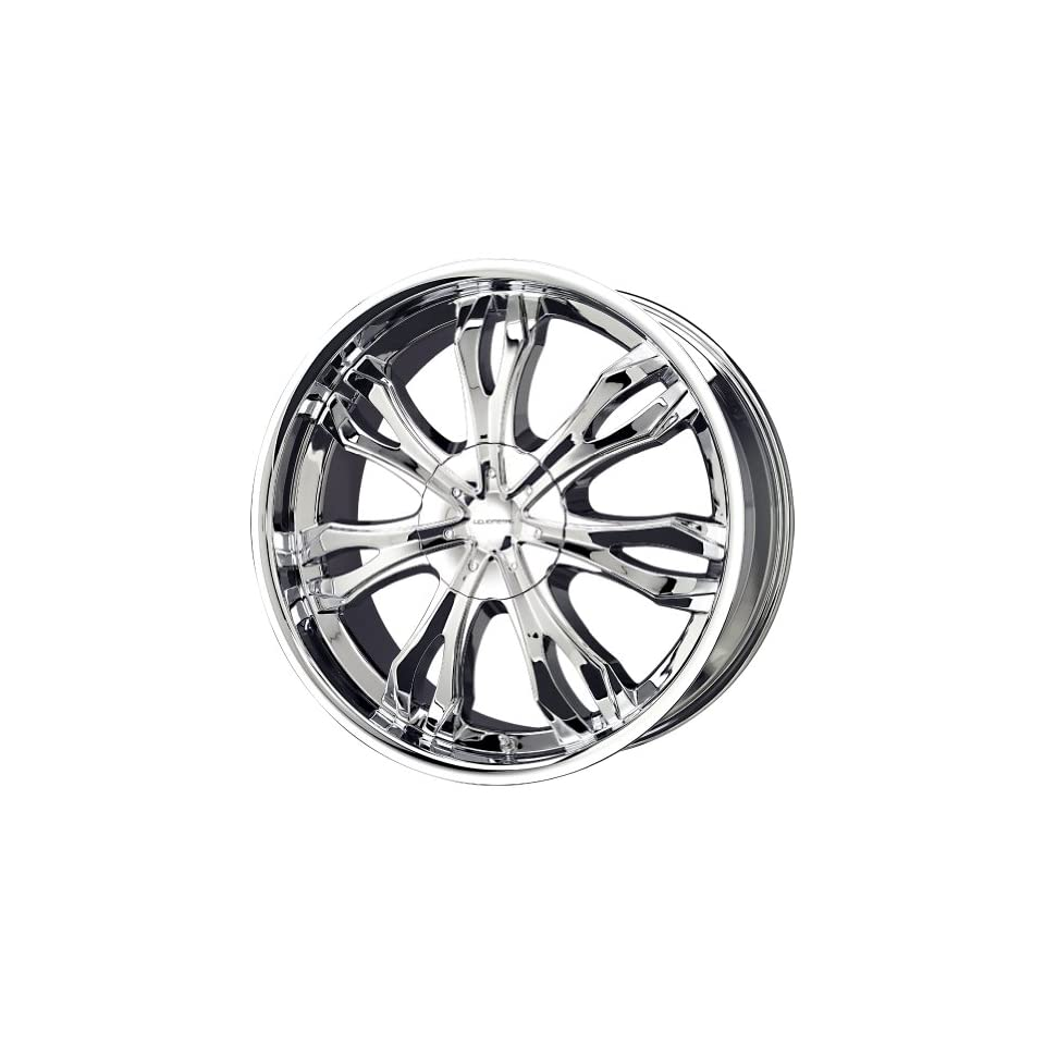 Liquid Metal Ice Series Chrome Wheel (22x9.5/6x139.7mm)