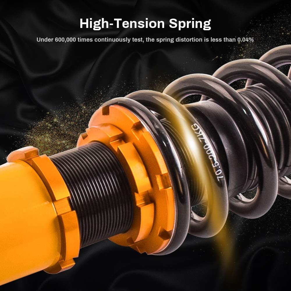 Assembly Coilovers Struts for Honda CR-V CRV 1996-2001 Suspension Spring Shocks Adjustable Dampening