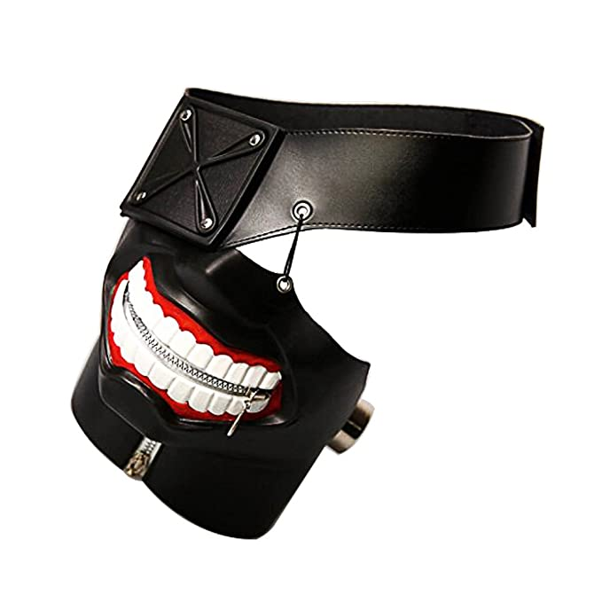 Amazon.com: 3D Tokyo Ghoul Kaneki Ken Cosplay Mask for Halloween Costume party Decorations Props: Home & Kitchen