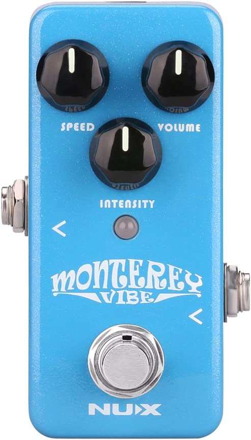 NUX Mini Core Monterey Vibe Guitar Effects Pedal Firmware Upgradable True Bypass