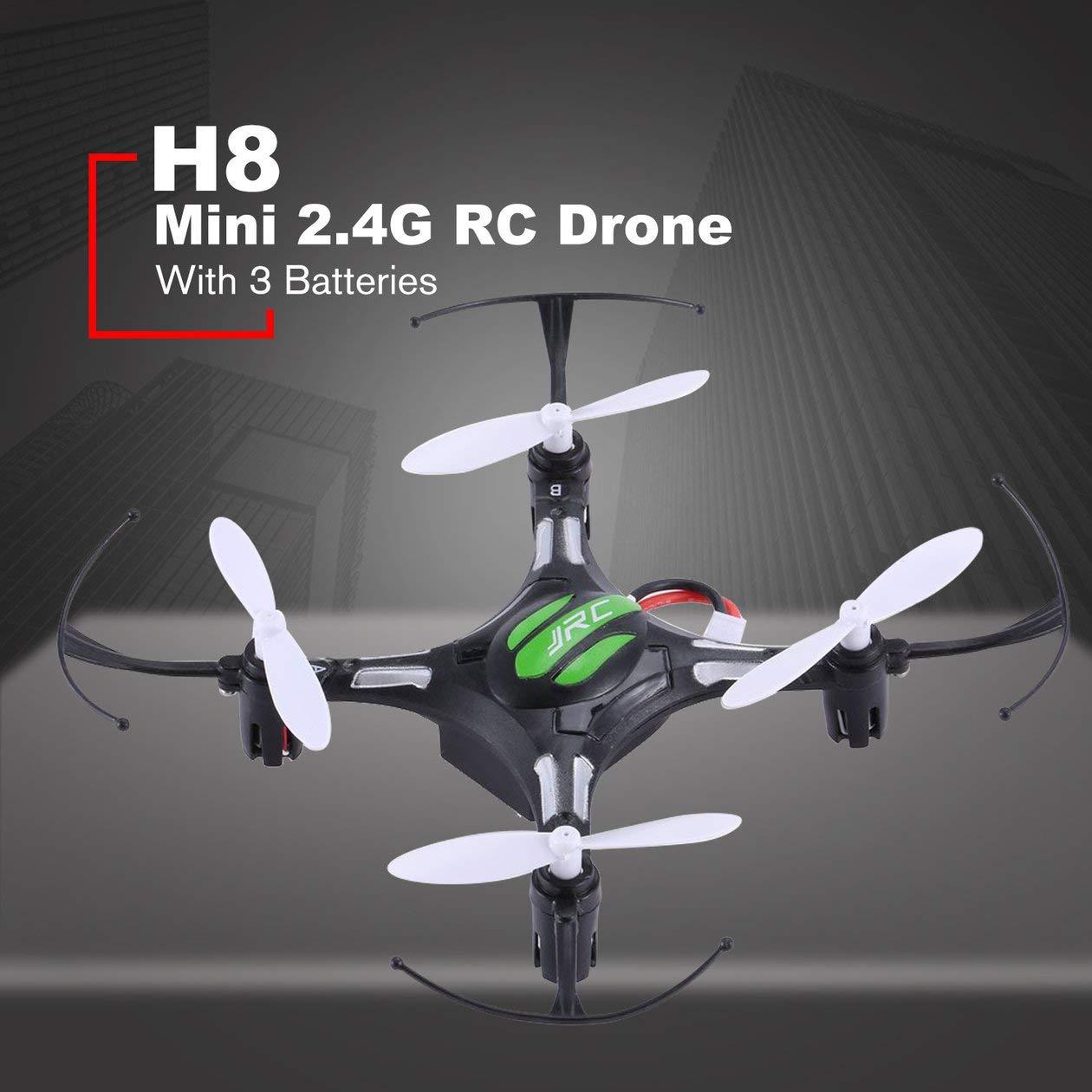 BIYI JJR/C H8 Mini 2.4G 4CH 6-ejes Gyro Drone RC Quadcopter 360 ...