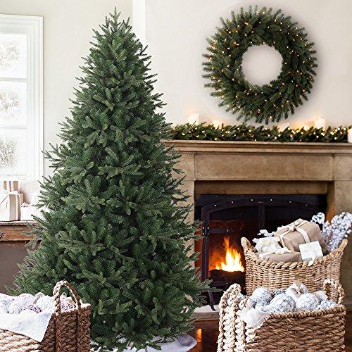 Balsam Hill Saratoga Spruce Artificial Christmas Tree, 7 Feet, (Black Hills Tree)
