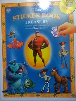Disney Sticker Book Treasury (PIXAR Characters)