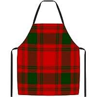 70x83 cm 100/% algod/ón tambi/én perfecto como delantal para barbacoa y horno. incluye caja de regalo f/ácil de limpiar y resistente negro Delantal de cocina EliXito pr/émium algod/ón
