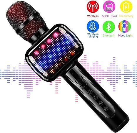 Standmikrofon Kindermikrofon für Kinder Mikrofon Karaoke singen Spielzeug Sound