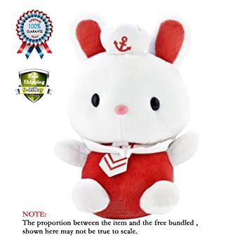 4 colores kawaii Sealive peluche conejo dibujos animados ...