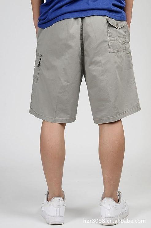 444955161431 Heheja Herren Cargo Shorts Knielang Männer Vintage Kurze Hose Baumwolle  Bermuda Khaki XL  Amazon.de  Bekleidung