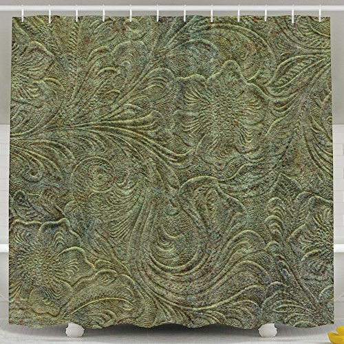 Skkoka Mildew Shower Curtain Waterproof Non Toxic,Eco-Friendly,No Chemical Odor Bathroom Curtains 60x72inch